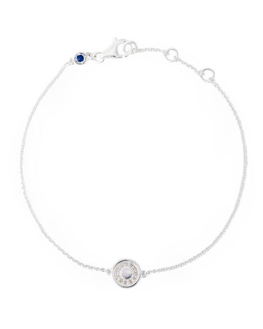 mini Moonstone round Stilla bracelet - Metallic Astley Clarke TKeD4M5Sh