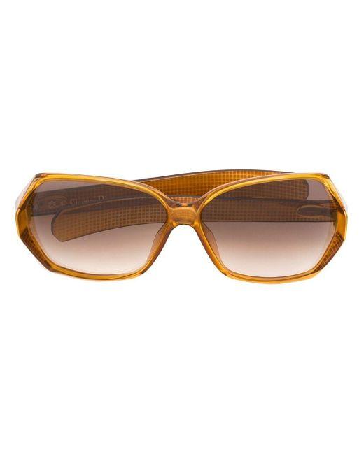 Солнцезащитные Очки В Объемной Оправе Dior, цвет: Brown