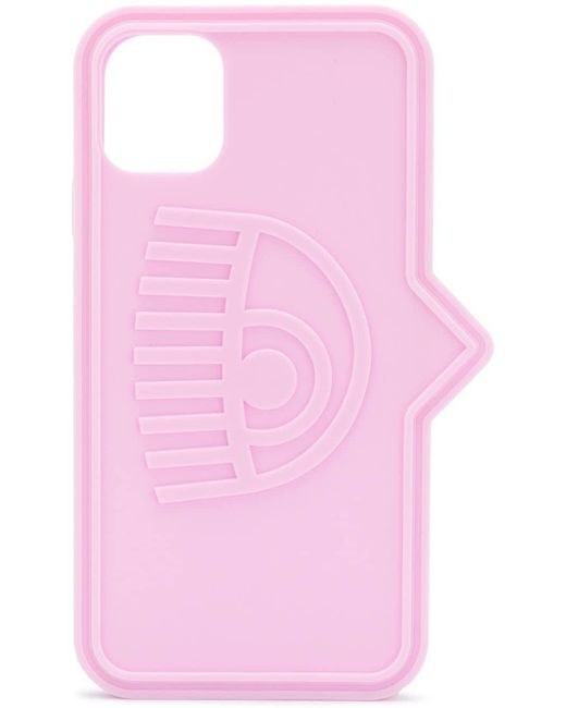 Chiara Ferragni Blinking Eye Iphone 11 ケース Pink