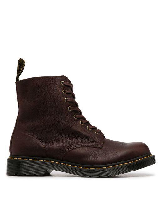 Массивные Ботинки На Шнуровке Dr. Martens для него, цвет: Brown