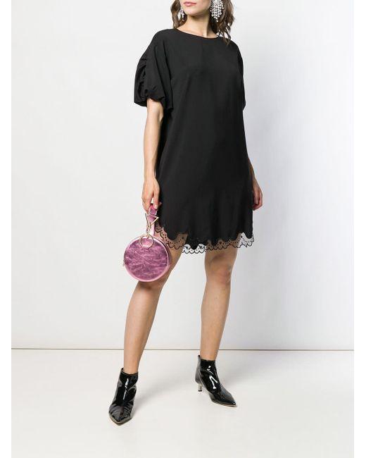 N°21 パフスリーブ ドレス Black