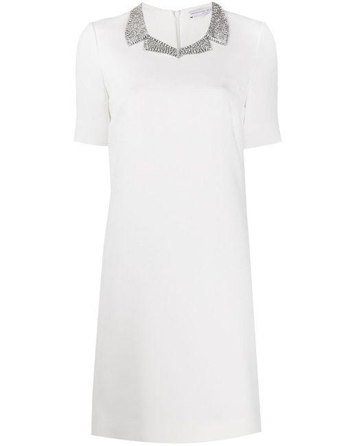 Ermanno Scervino ビジューカラー ドレス White