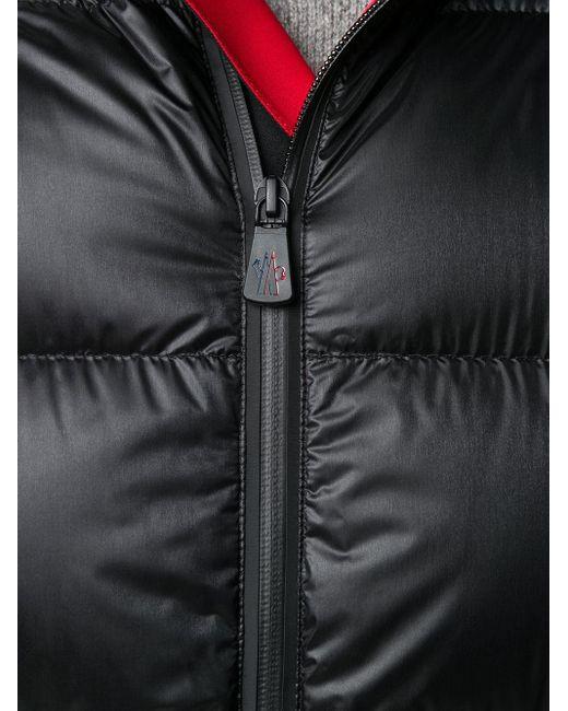 メンズ 3 MONCLER GRENOBLE キルティング ダウンジャケット Black
