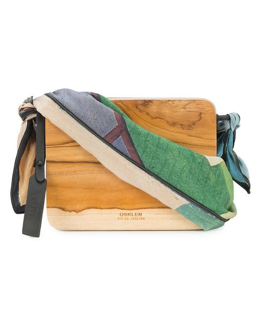 Osklen - Brown X Tarsila Collection Crossbody Bag - Lyst