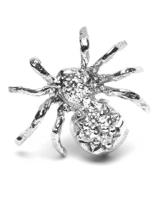 Wouters & Hendrix | Metallic Diamond Spider Earring | Lyst