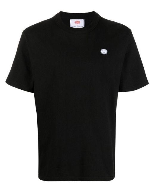 Societe Anonyme ロゴパッチ Tシャツ Black