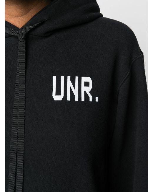 Unravel Project ロゴ パーカー Black