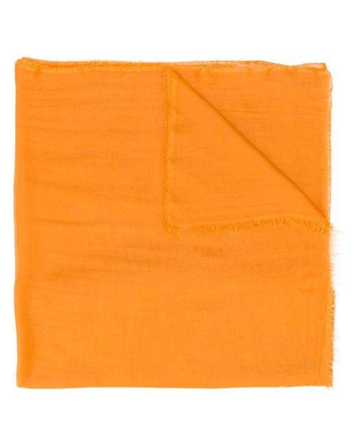 Faliero Sarti フレイド スカーフ Orange