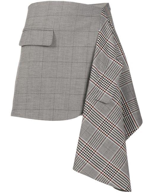 Monse パッチ スカート Gray