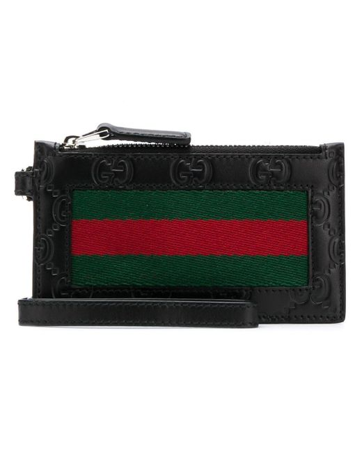 Gucci Black Zipper Wallet for men