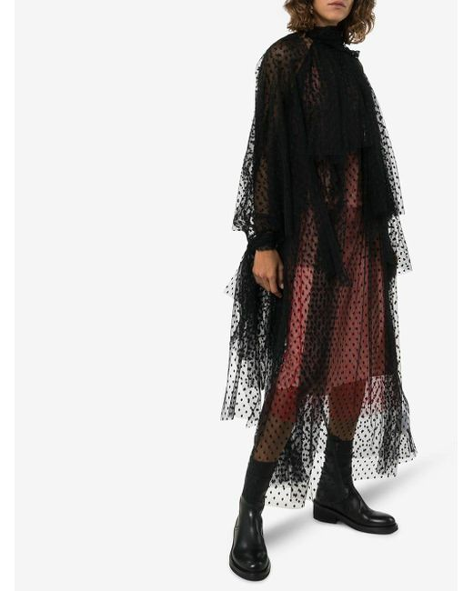 Bottines à détail de laçage Ann Demeulemeester en coloris Black