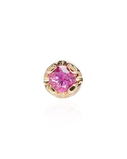 Andrea Fohrman ピンクサファイア ピアス 18kイエローゴールド Pink