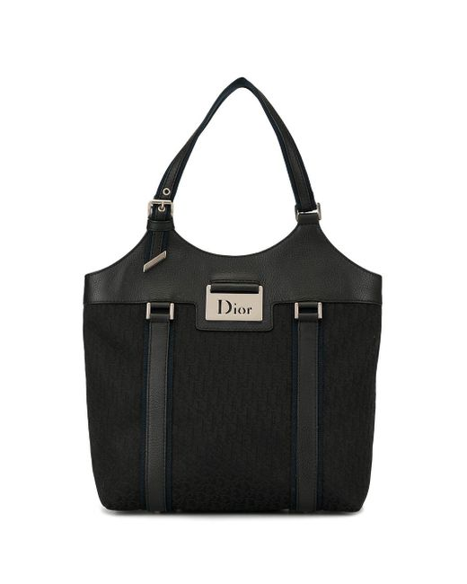 Dior トロッター ハンドバッグ Black