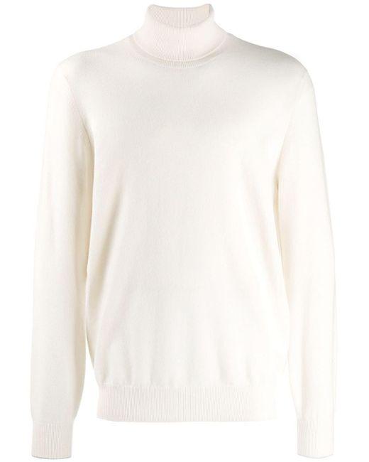 Кашемировая Водолазка Brunello Cucinelli для него, цвет: White