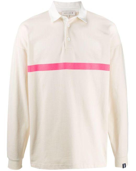 メンズ Mackintosh ストライプ ラガーシャツ Multicolor