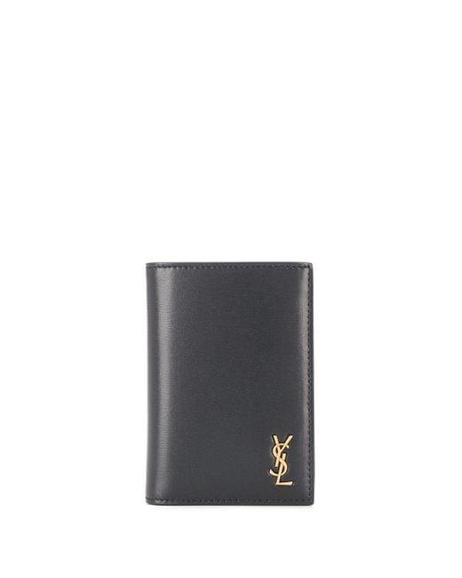 Бумажник С Монограммой Saint Laurent для него, цвет: Black