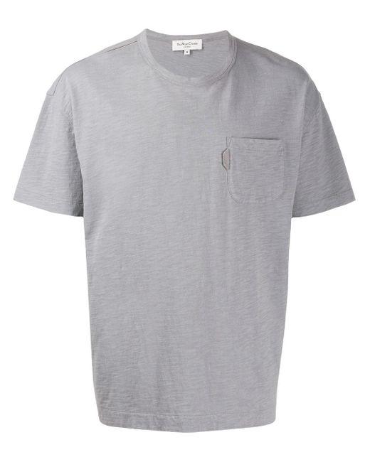 メンズ YMC チェストポケット Tシャツ Gray