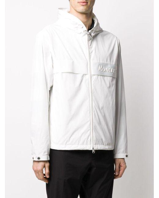 Куртка С Капюшоном Moncler для него, цвет: White