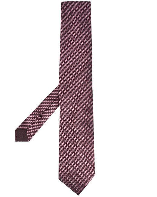 メンズ Tom Ford ストライプ ネクタイ Pink