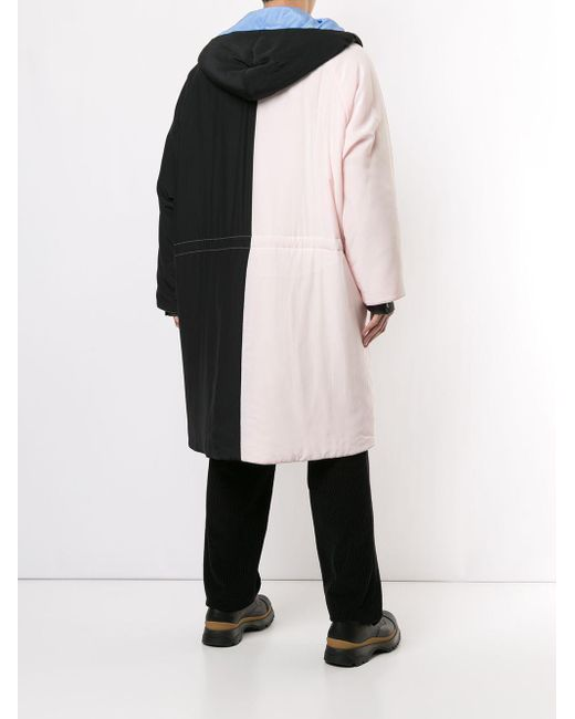 メンズ Jil Sander オーバーサイズ トレンチコート Black