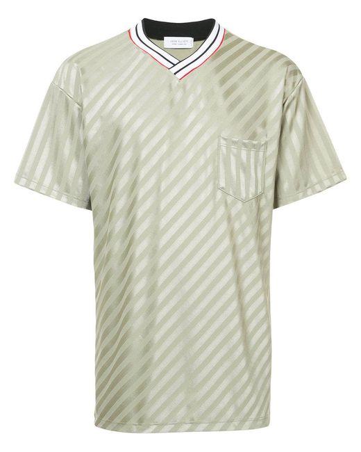 John Elliott - Green Soccer T-shirt for Men - Lyst