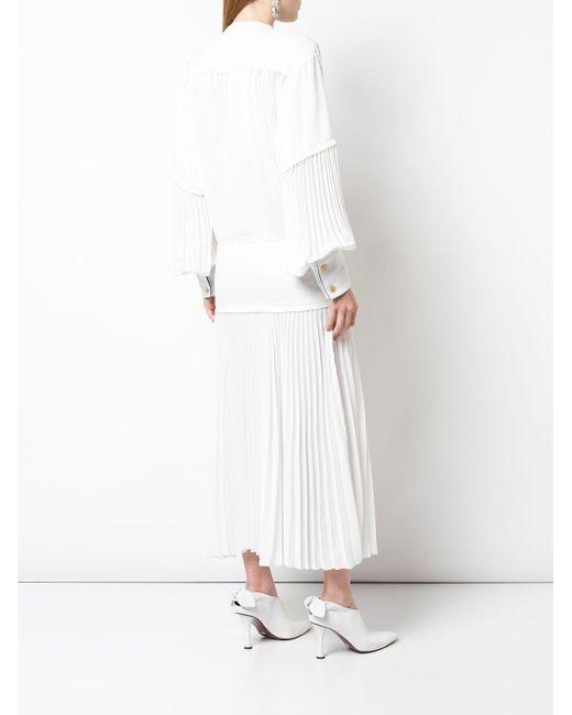 Proenza Schouler プリーツ ドレス White
