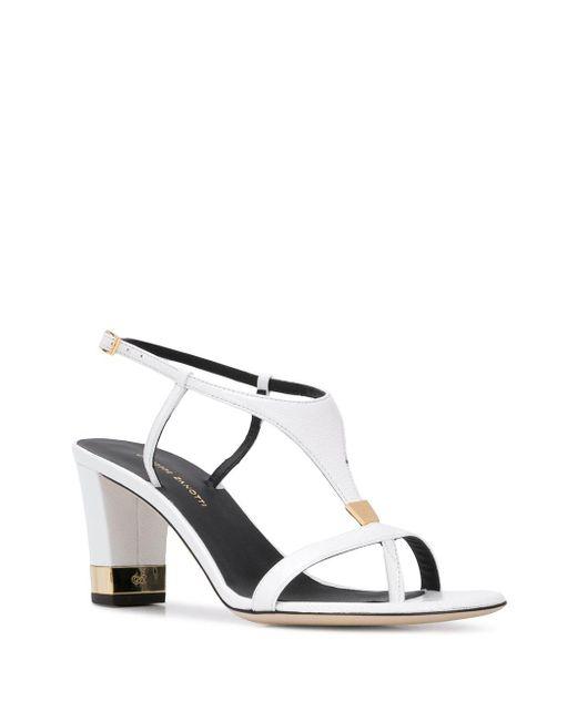 Giuseppe Zanotti White Open-toe Sandals