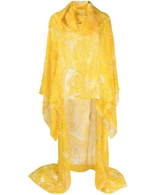 Etro ペイズリー カフタン Yellow
