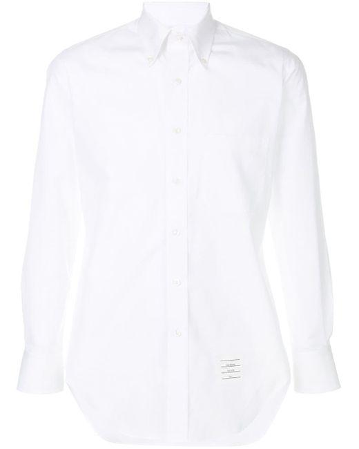 Thom Browne Klassisches Hemd in White für Herren