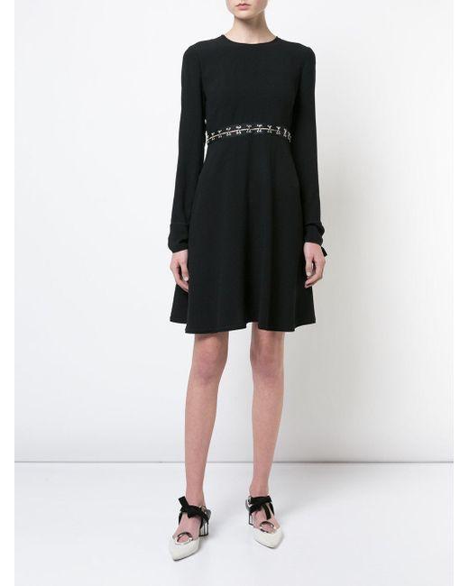 Платье С Длинными Рукавами Proenza Schouler, цвет: Black