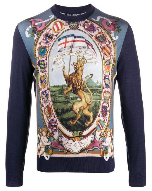 メンズ Dolce & Gabbana Dg King セーター Multicolor