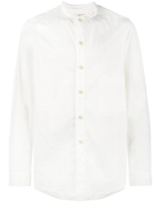 By Walid | White Tarek Cotton Shirt for Men | Lyst