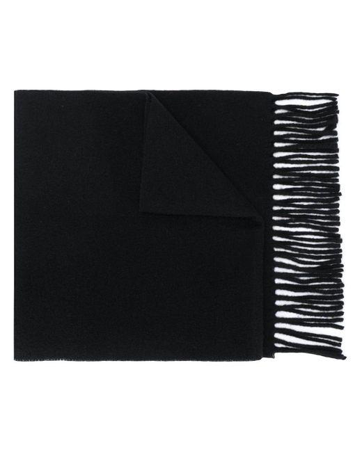 Vivienne Westwood ロゴ フリンジスカーフ Black