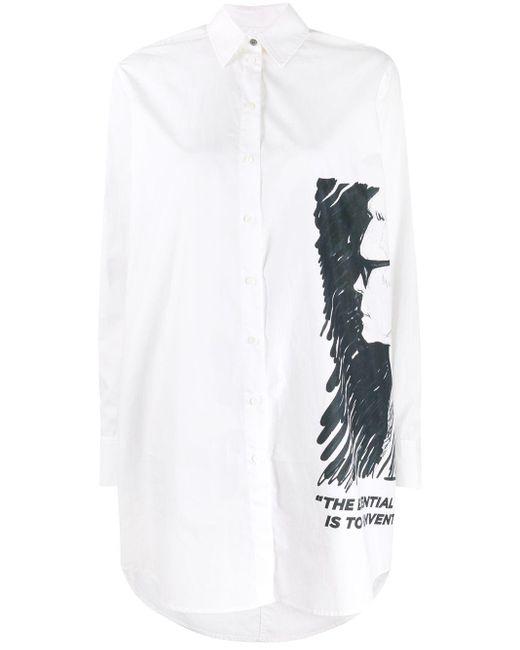 Karl Lagerfeld Karl シャツドレス White