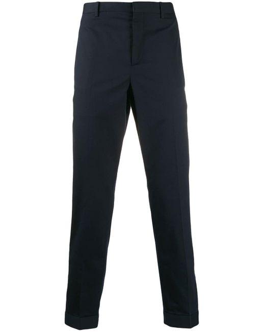 Pantalon chino classique Neil Barrett pour homme en coloris Blue