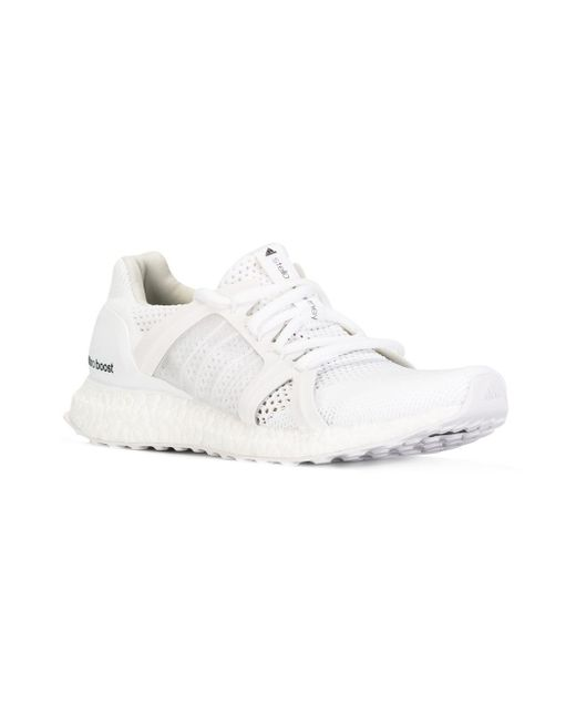 Adidas By Stella McCartney レースアップ スニーカー White