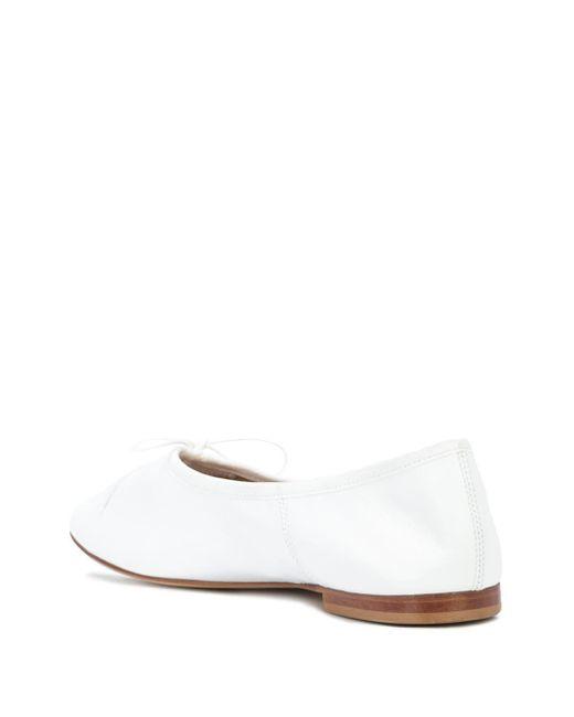 Mansur Gavriel Dream フラットパンプス White