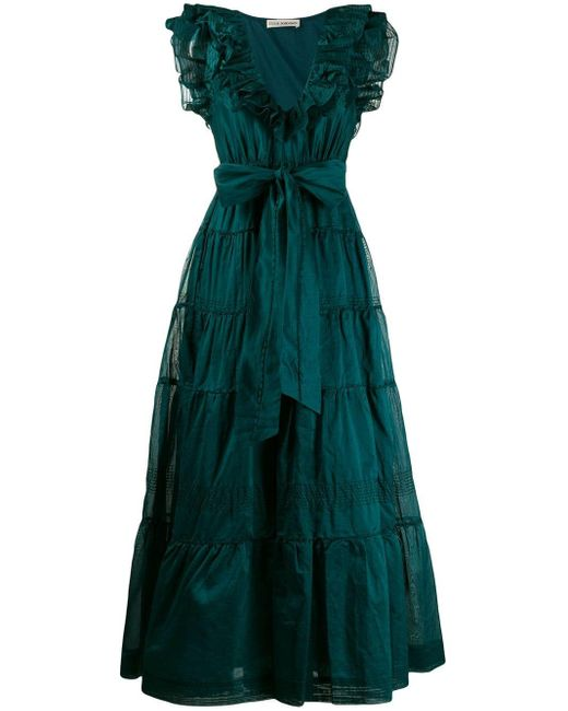 Ulla Johnson Severine ドレス Green