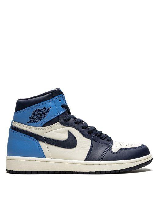 Nike Air 1 Retro High Og スニーカー Blue