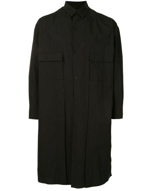 Yohji Yamamoto オーバーサイズ シャツ Black