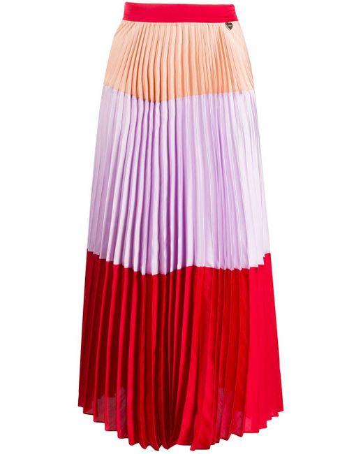Twin Set プリーツ スカート Red