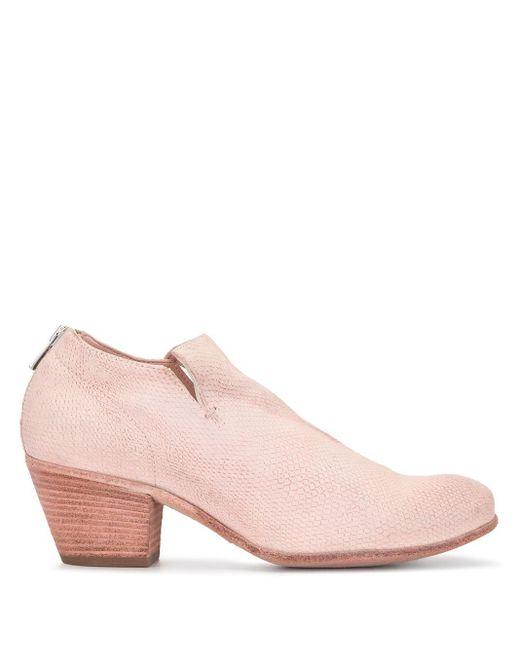 Ботильоны Giselle Lucerola Officine Creative, цвет: Pink