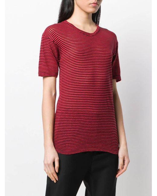 Étoile Isabel Marant ストライプ Tシャツ Red
