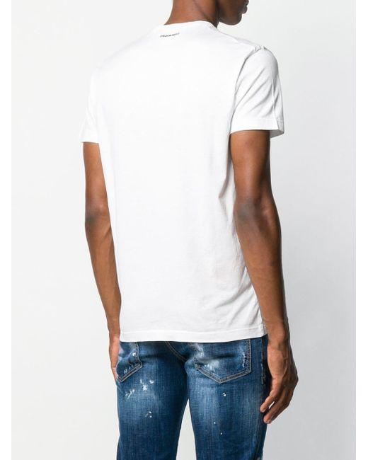T-shirt Canaduh DSquared² pour homme en coloris White