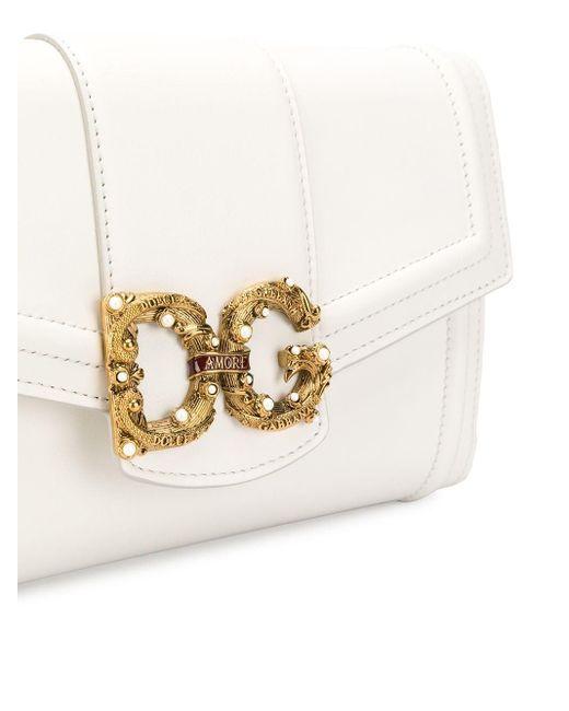 Сумка На Плечо Dg Amore Dolce & Gabbana, цвет: White