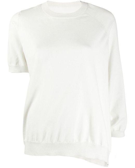 Maison Margiela コットンブレンド Tシャツ White