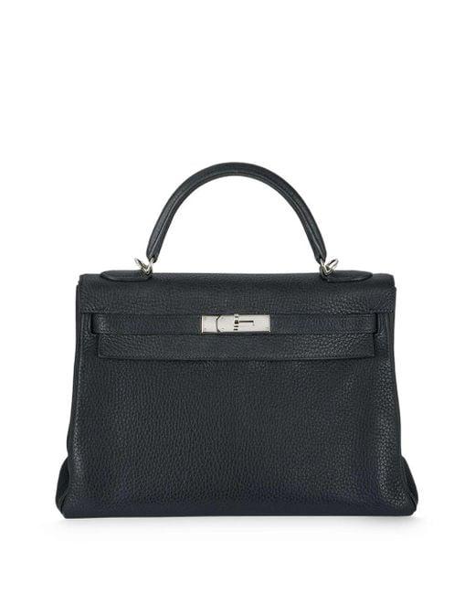 Hermès プレオウンド ケリー 32cm ハンドバッグ Blue