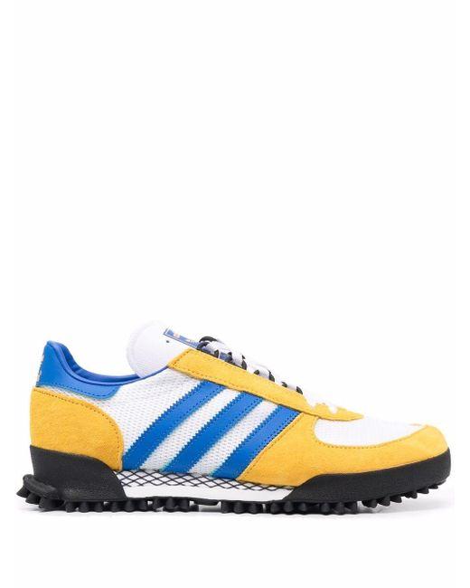 Adidas White Marathon Tr Low-top Sneakers for men