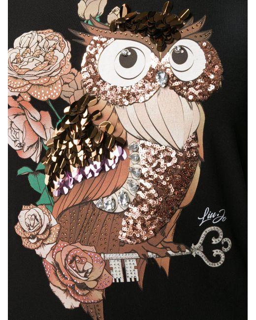 Liu Jo スパンコール Tシャツ Black