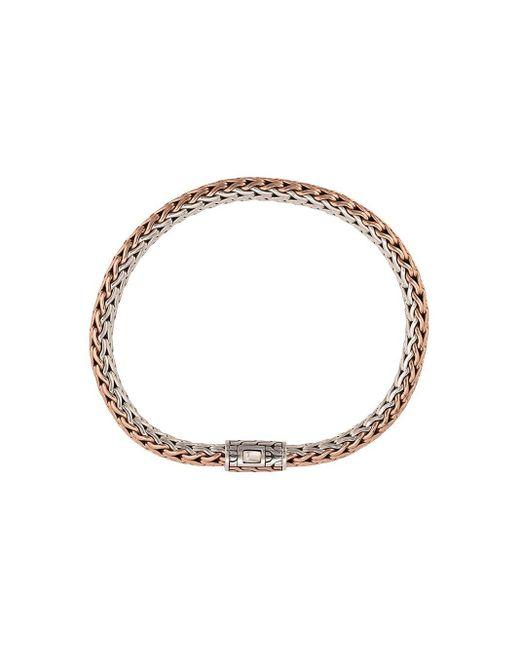 Bracelet Classic Chain John Hardy pour homme en coloris Metallic